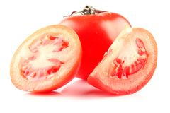 Tomato & slices Royalty Free Stock Photo