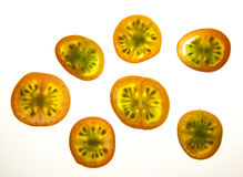 Tomato slices Royalty Free Stock Images