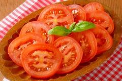 Tomato slices Stock Image
