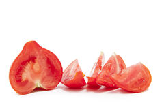 Tomato slices Stock Image