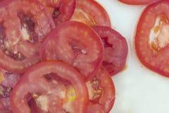 Tomato slices Royalty Free Stock Image