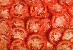 Tomato slices Stock Photography