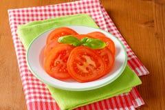 Tomato slices Royalty Free Stock Photos