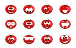Tomato smile Stock Photos