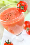 Tomato smoothie Royalty Free Stock Photo