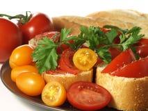 Tomato snack Stock Photos