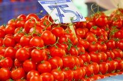 Tomato. Some fresh tomatos in supermarket Royalty Free Stock Photography