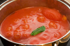 Tomato souce Stock Photo