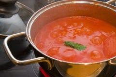 Tomato souce Stock Image