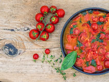 Tomato souce for pasta Stock Photography