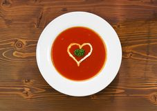 Free Tomato Soup Stock Photography - 17879802