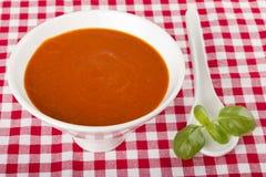 Tomato soup Stock Photos