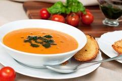 Tomato soup Stock Photography