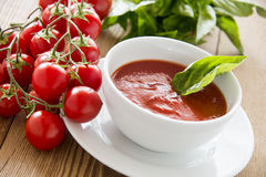 Free Tomato Soup Stock Photography - 43299862