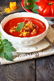 Tomato soup. Stock Images