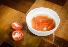 Tomato soup food Royalty Free Stock Photo