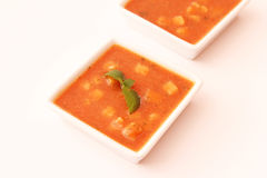 Tomato soup Royalty Free Stock Image