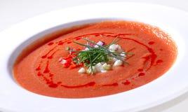 Tomato soup gazpacho Royalty Free Stock Photos