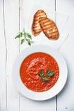 Tomato soup Gazpacho Royalty Free Stock Image