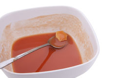 Tomato Soup and Last Cracker Stock Images