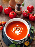Tomato soup Royalty Free Stock Photography