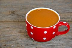Tomato soup in mug Royalty Free Stock Photography