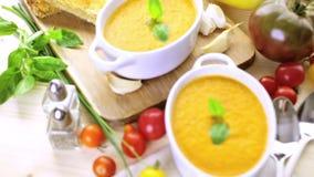 Tomato soup stock footage