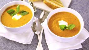 Tomato soup stock video