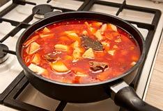 Tomato soup - shourpa Royalty Free Stock Photo