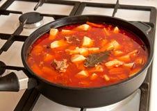 Tomato soup - shourpa Stock Photography