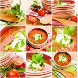 Ukrainian national food Stock Photography