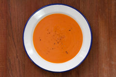 Tomato soup Stock Image