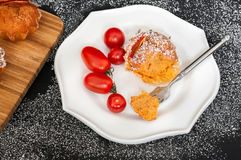 Tomato Spice Muffins Stock Photography