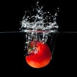 Tomato splash Royalty Free Stock Photos