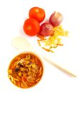 Tomato stew with beef and vegetables Stock Photos