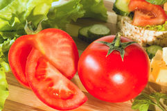 Tomato still life Royalty Free Stock Images