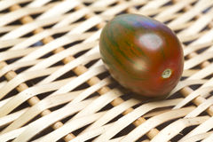 Tomato striped.Close up Royalty Free Stock Photo