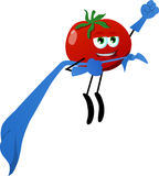 Tomato superhero Stock Photography