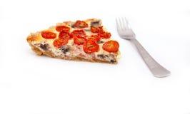Tomato tart Stock Photography