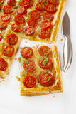 Tomato Tart Royalty Free Stock Photo