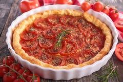 Tomato tart Royalty Free Stock Photo
