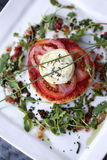 Tomato tart Stock Photo