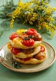 Tomato Tart. Stock Images