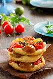 Tomato Tart. Royalty Free Stock Image