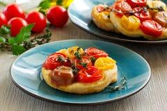 Tomato Tart. Royalty Free Stock Images