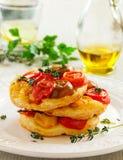Tomato Tart. Royalty Free Stock Photos