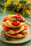 Tomato Tart Royalty Free Stock Image