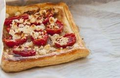 Tomato tart Royalty Free Stock Photography