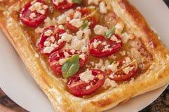 Tomato tart Stock Image