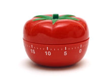 Tomato timer Royalty Free Stock Photos